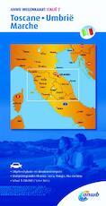 Wegenkaart 7. Toscane,Umbrië,Marche - ANWB (ISBN 9789018042752)
