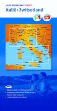 Wegenkaart 1. Italië/Zwitserland (ISBN 9789018042691)