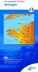 Wegenkaart 4. Bretagne - ANWB (ISBN 9789018042585)