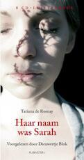 Haar naam was Sarah 8 CD'S - Tatiana de Rosnay (ISBN 9789047609766)