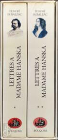Letttres à Madame Hanska - Honoré De Balzac (ISBN 9782221900505)