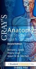 Gray's anatomy for students flash cards - Richard Drake, Adam W. M. Mitchell, A. Wayne Vogl (ISBN 9780702031724)