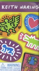 Keith Haring Wooden Magnetic Shapes - Keith Haring (ISBN 9780735343962)