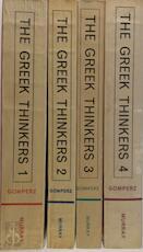 Greek thinkers - Theodor Gomperz