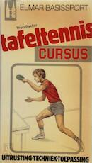 Tafeltennis cursus - Piet Bakker (ISBN 9789061203889)