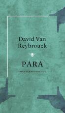 Para - David Van Reybrouck (ISBN 9789023450443)