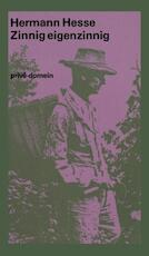 Zinnig eigenzinnig - Hermann Hesse (ISBN 9789029519021)