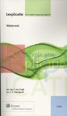 Waterwet - F. van Gogh (ISBN 9789013085518)