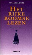Het rijke roomse lezen - Ed Schilders, Poeka Veldman (ISBN 9789075323153)