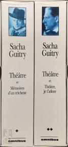 Théâtre et Mémoires d'un tricheur. & Theâtre et Théâtre, je t'adore - Sacha Guitry (ISBN 9782258055452)