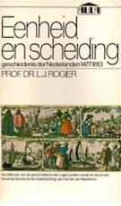 Eenheid en scheiding - L.[J.]. Rogier (ISBN 9789027450586)