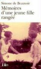 Mémoires d'une jeune fille rangée - Simone De Beauvoir (ISBN 9782070355525)