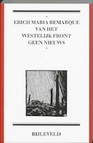 Van het westelijk front geen nieuws - E.M. Remarque (ISBN 9789061318996)