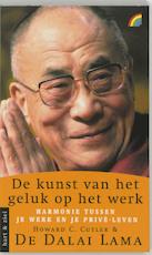De kunst van het geluk op het werk - Dalai Lama (ISBN 9789041705822)