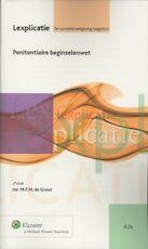 Penitentiaire beginselenwet - M.F.M. de Groot (ISBN 9789013085631)