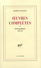 Œuvres complètes II - Georges Bataille (ISBN 9782070267941)