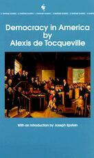 Democracy in America - Alexis de Tocqueville (ISBN 9780553214642)