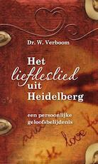 Het liefdeslied uit Heidelberg - Wim Verboom (ISBN 9789088970016)