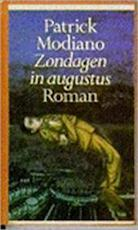 Zondagen in augustus - Patrick Modiano (ISBN 9789029531665)