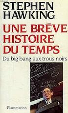 Une brève histoire du temps - Stephen Hawking (ISBN 9782082111829)