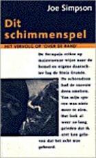 Dit schimmenspel - Joe Simpson, Paul Heijman (ISBN 9789038867731)