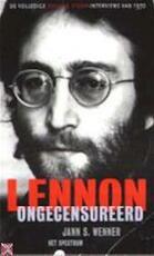 Lennon ongecensureerd - John Lennon, Jann S. Wenner, Ed van Eeden (ISBN 9789027433411)