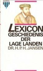 Lexicon geschiedenis der lage landen