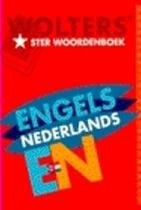 Wolters' ster woordenboek Engels-Nederlands - Herlinda de Boer, E. G. de Bood (ISBN 9789066486720)