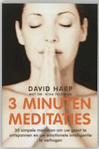 3 minuten meditaties - David Harp (ISBN 9789041760920)