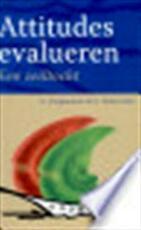 Attitudes evalueren - Goedele Vergauwen Deserrano, Goedele (ISBN 9789044118919)