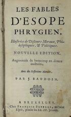 Les fables d'Esope Phrygien - J. Baudoin