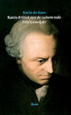 Kant's Kritiek van de zuivere rede - Karin de Boer (ISBN 9789085066774)