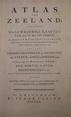 Atlas van Zeeland - Isaak Tirion