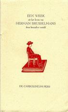 Een week uit het leven van Herman Brusselmans door hemzelve verteld