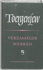 Verzamelde werken - deel V - Brieven - I.S. Toergenjew (ISBN 9789028206878)