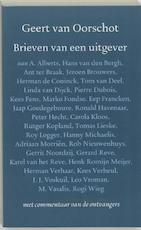 Brieven van een uitgever - Geert van Oorschot (ISBN 9789028208865)