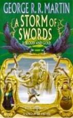 A storm of swords / 2 blood and gold - George R.R. Martin (ISBN 9780007119554)