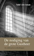 De nodiging van de grote Gastheer - John Duncan (ISBN 9789402901634)