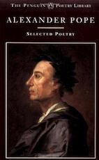 Selected Poetry - Alexander Pope (ISBN 9780140585087)
