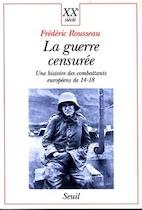 La guerre censurée - Frédéric Rousseau (ISBN 9782020359696)
