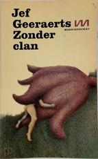 Zonder clan - Jef Geeraerts (ISBN 9789022303290)