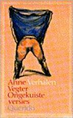 Ongekuiste versies - Anne Vegter (ISBN 9789021484976)