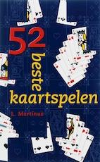 52 beste kaartspelen - L. Martinus (ISBN 9789038917351)