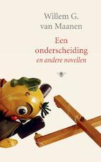 Een onderscheiding - Willem G. van Maanen