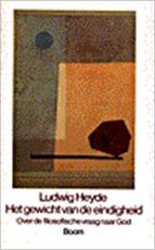 Het gewicht van de eindigheid - Ludwig Heyde (ISBN 9789053521854)