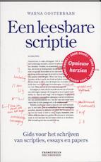 Leesbare scriptie
