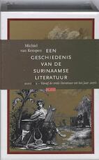 Een geschiedenis van de Surinaamse literatuur set