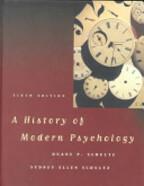 A History of Modern Psychology - Duane P. Schultz, Sydney Ellen Schultz (ISBN 9780155025608)