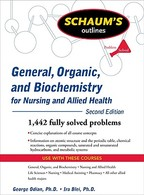 Schaum's Outline of General, Organic, and Biochemistry for Nursing and Allied Health - George Odian (ISBN 9780071611657)