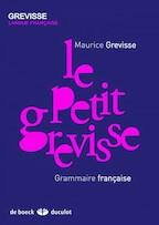 Le petit Grevisse - Maurice Grevisse (ISBN 9782801100875)